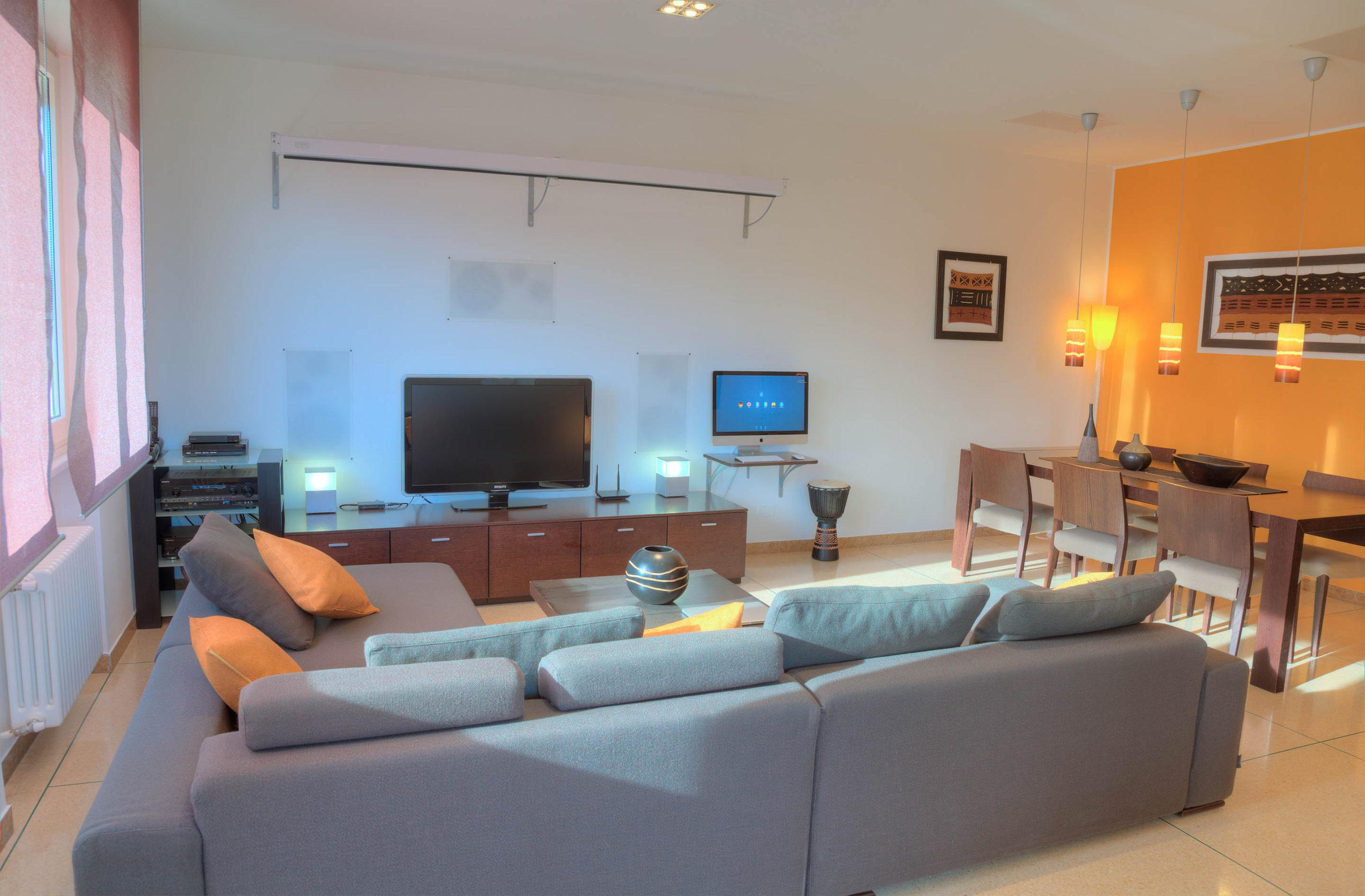 VIP Suite woonkamer