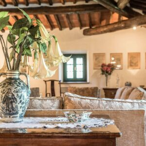 Villa dell' Angelo woonkamer