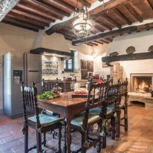 Villa dell' Angelo keuken