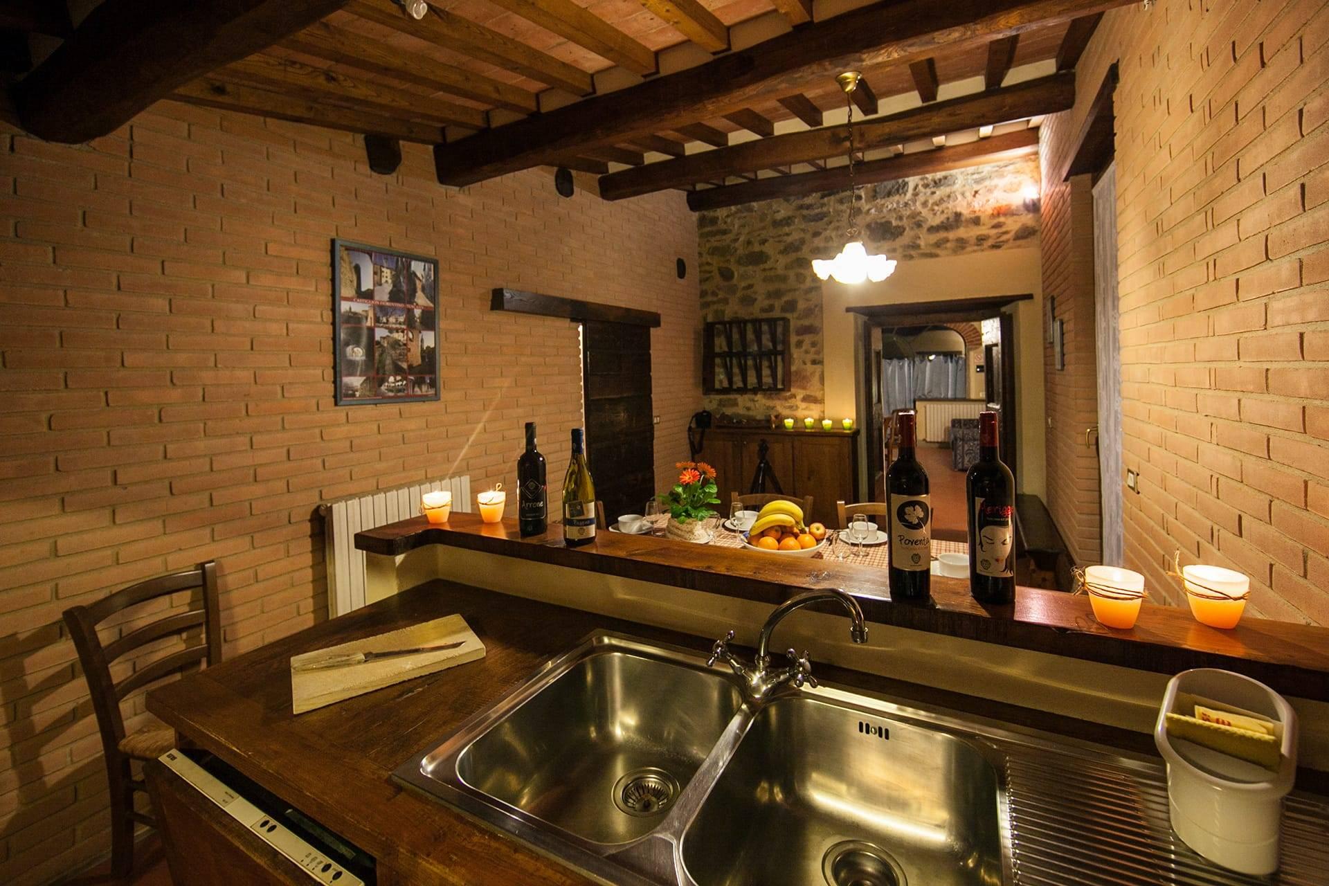Il Granaio keuken