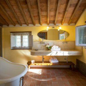 La Capanna badkamer