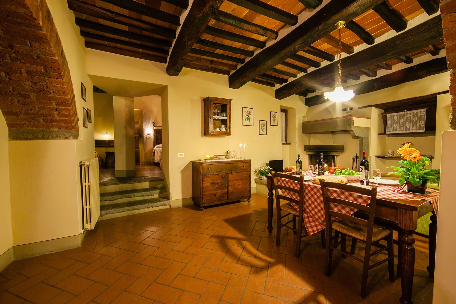Casa Fufigna 1 woonkamer