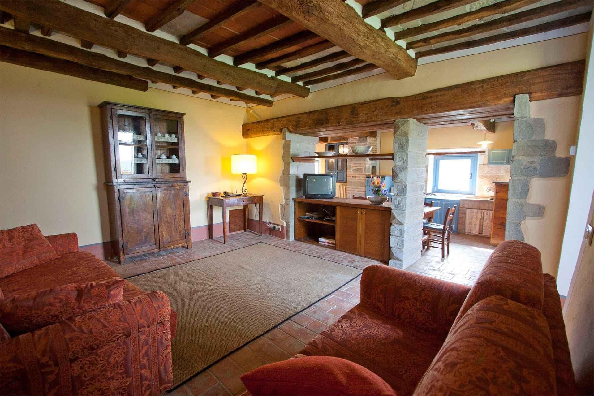 Villa San Martino woonkamer