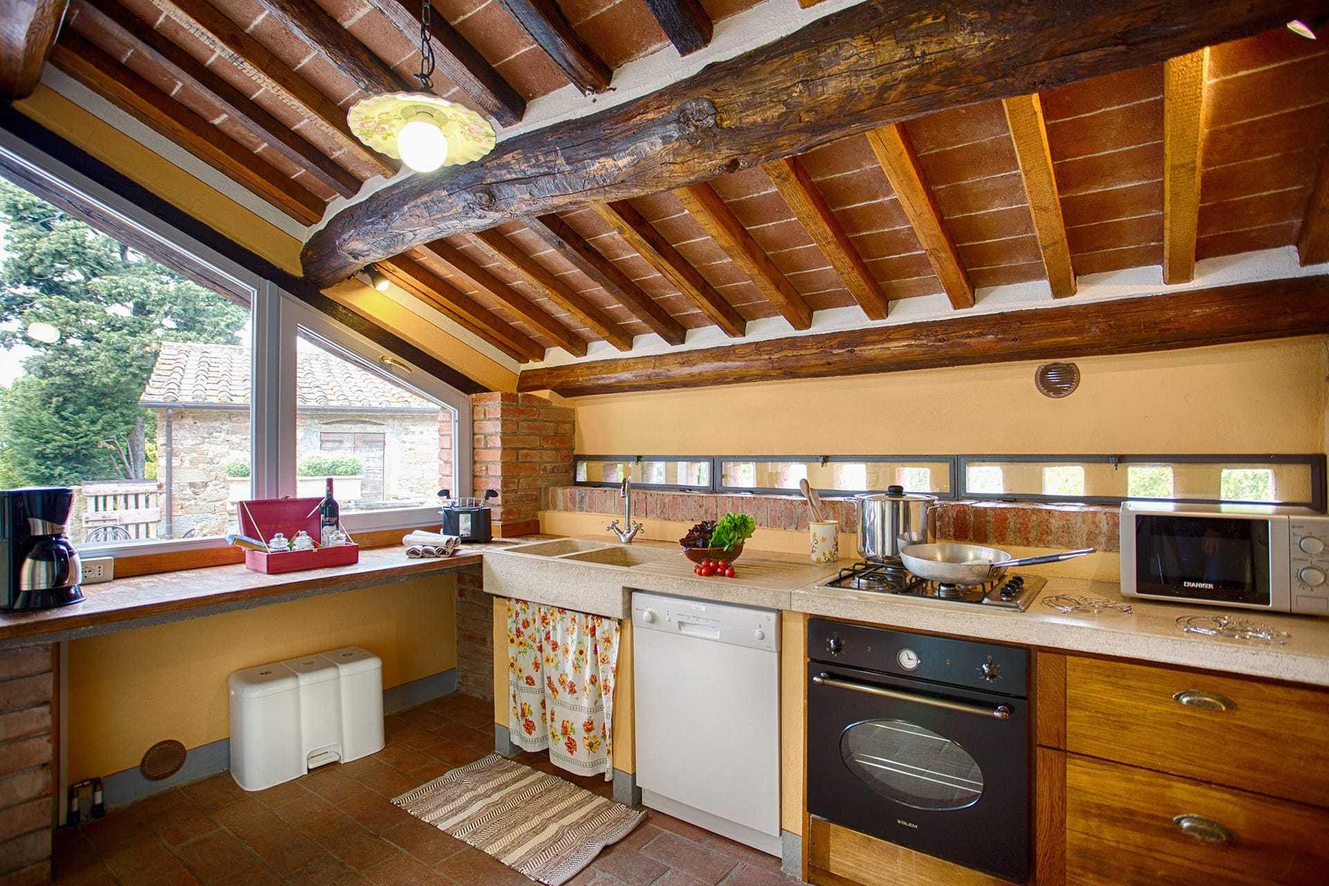La Casa Rosa 1 keuken