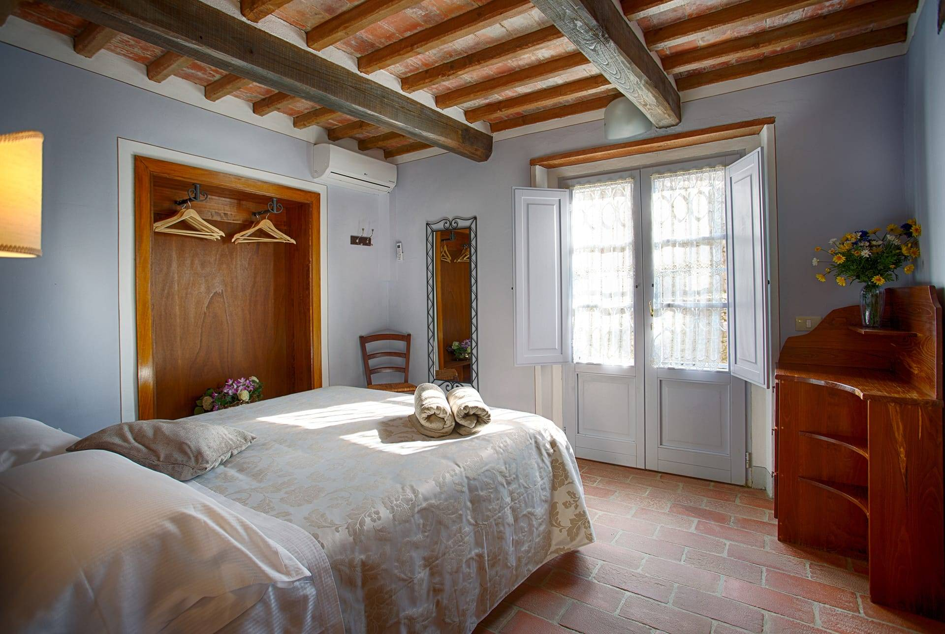 La Capanna slaapkamer