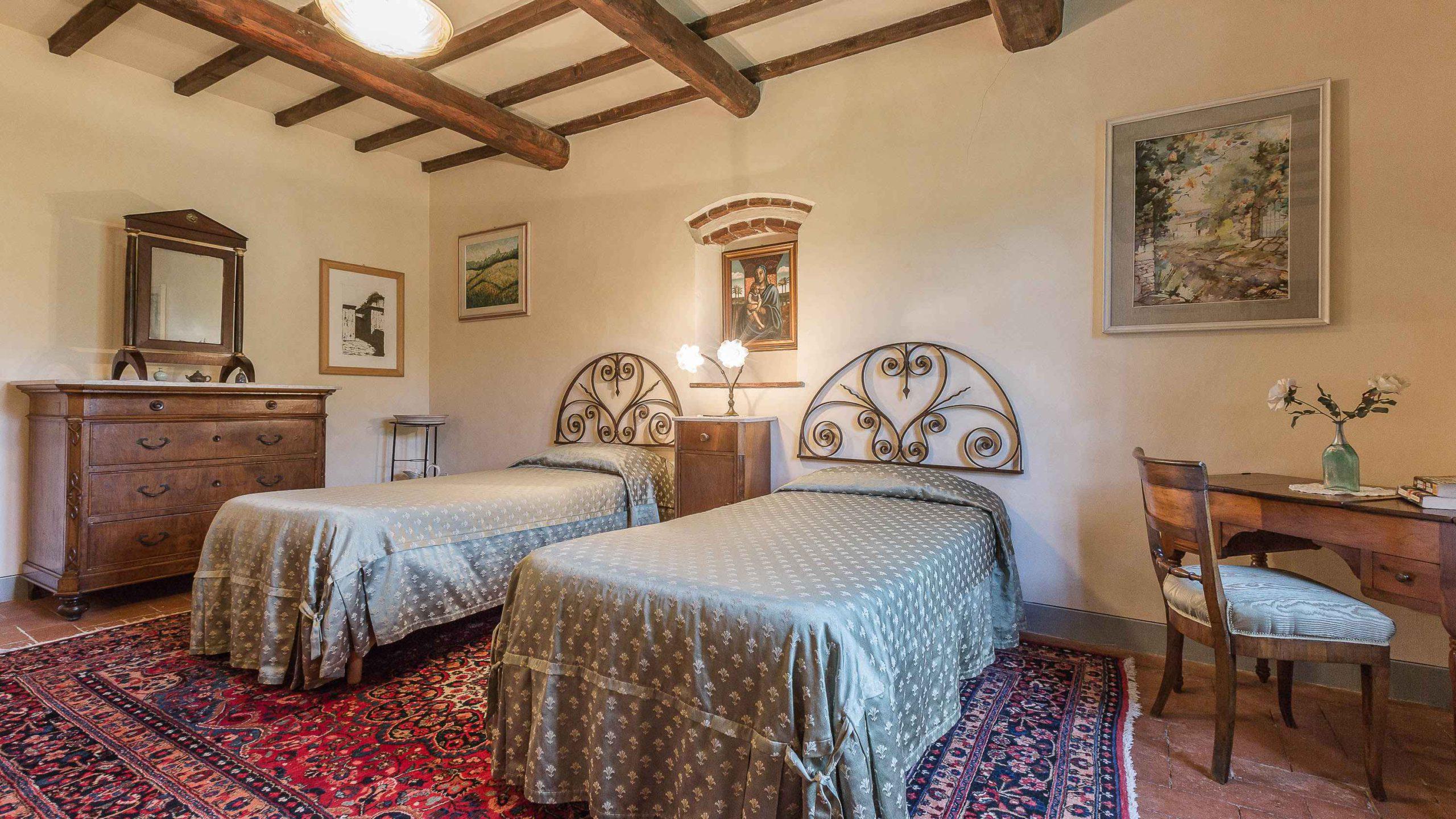 Villa Roncovisi slaapkamer