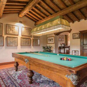 Villa Roncovisi biljart