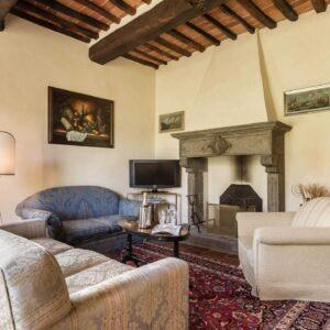 Villa Roncovisi woonkamer