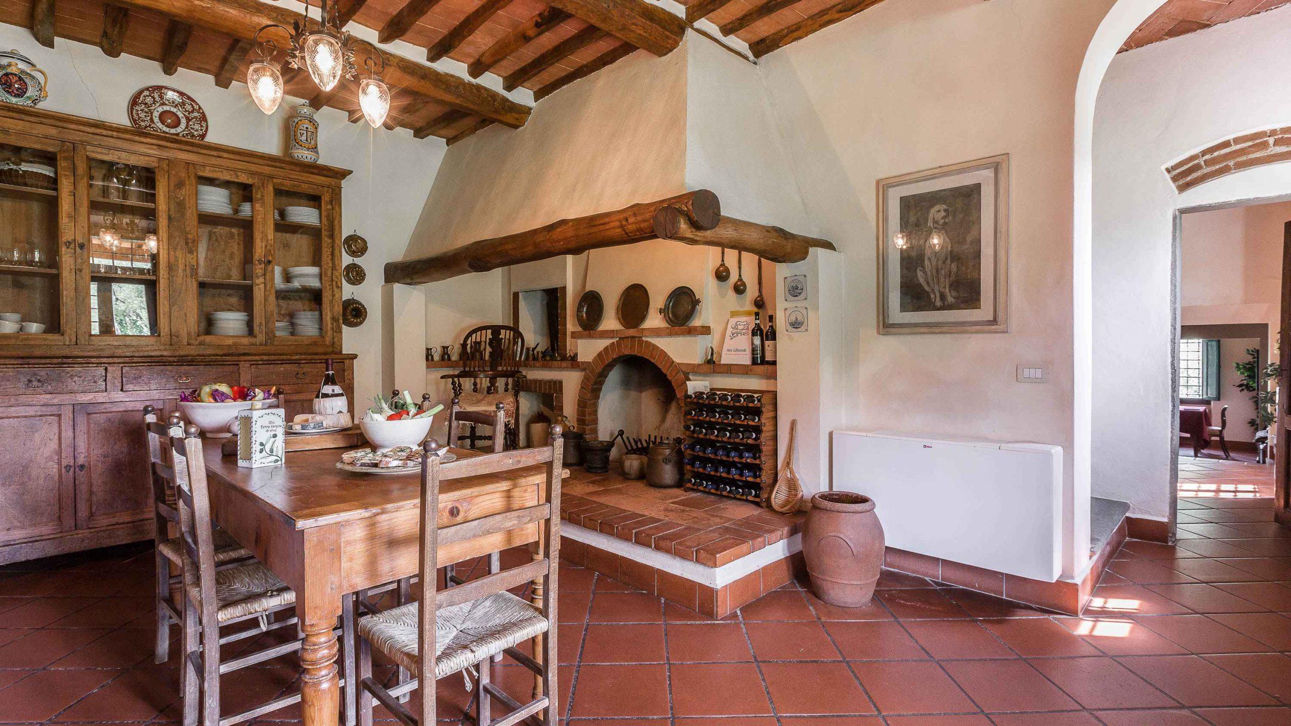 Villa Roncovisi keuken