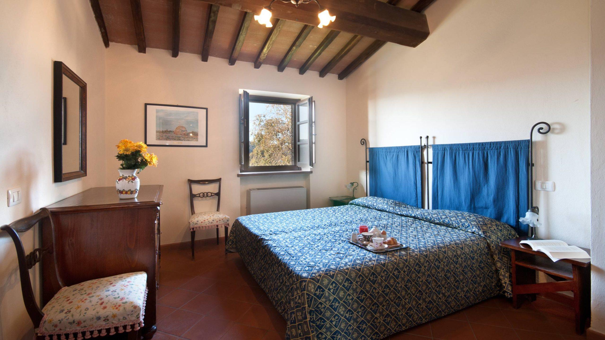 Il Belvedere slaapkamer