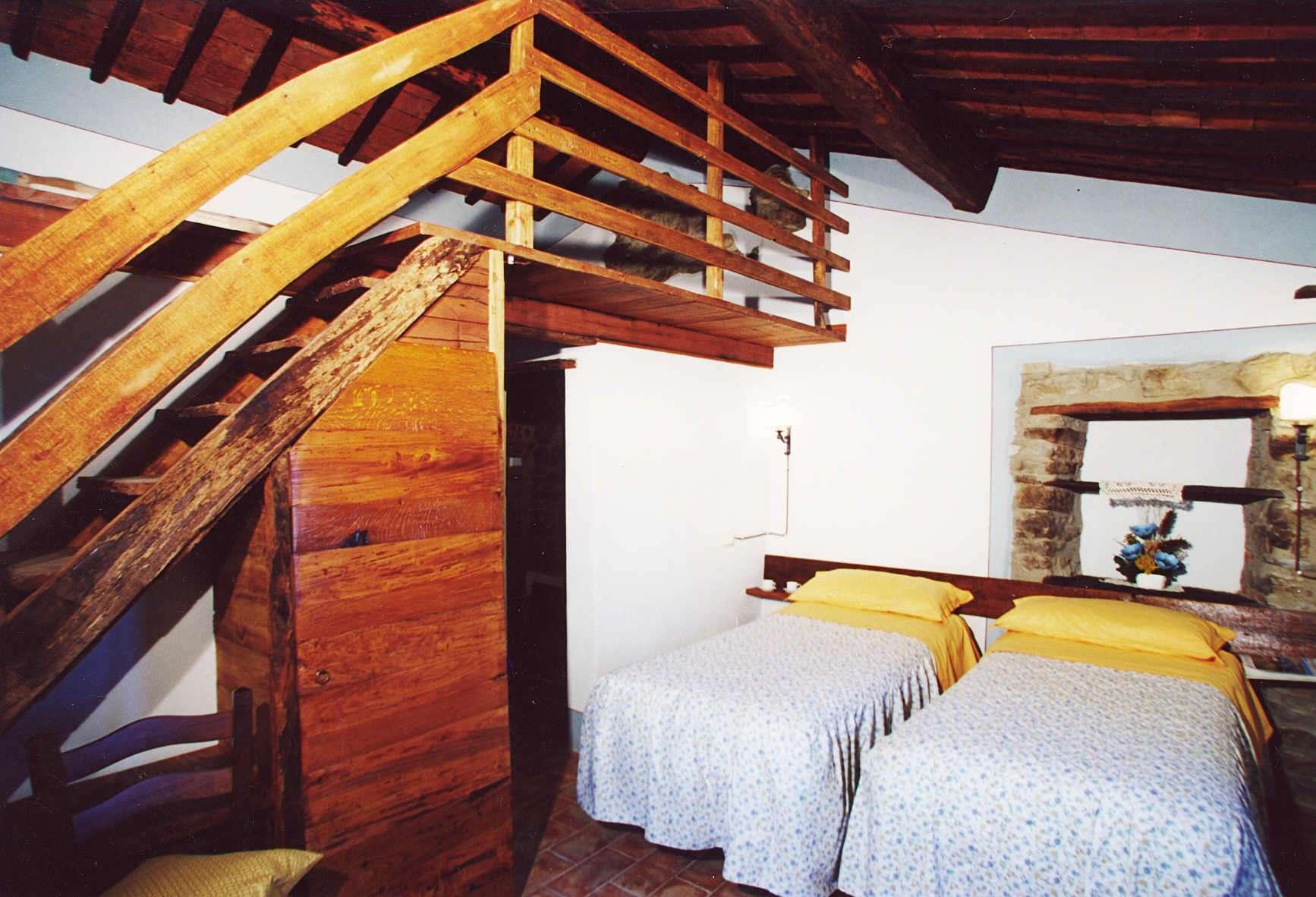 Villa San Martino slaapkamer