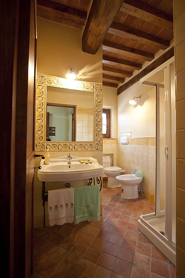 Villa Corte delle Stelle badkamer