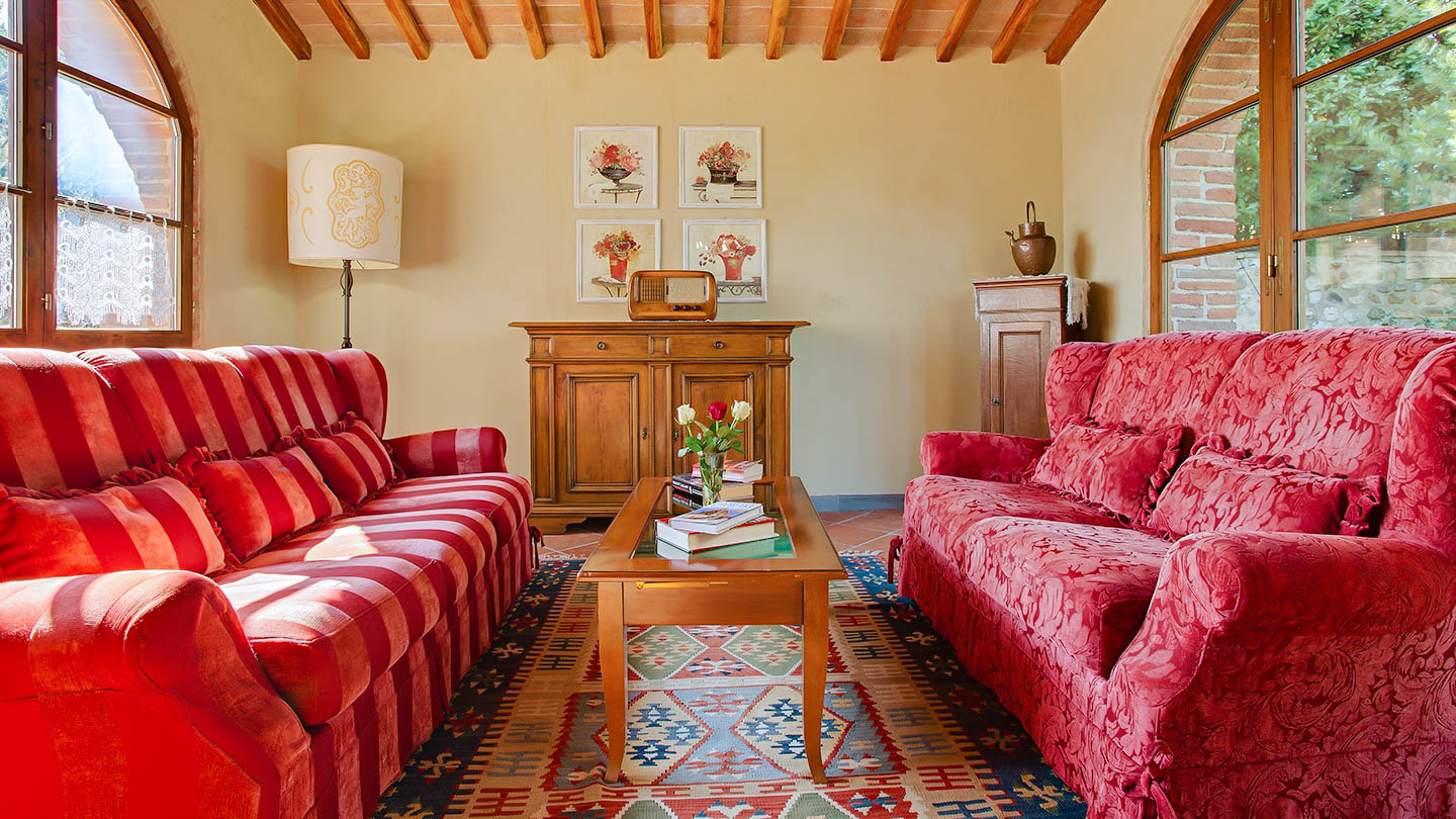 Sole del Chianti Cottage woonkamer
