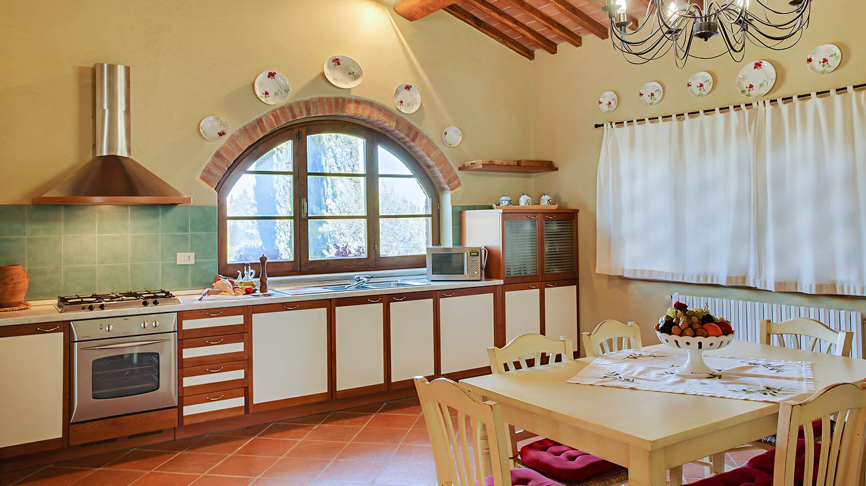 Sole del Chianti Cottage keuken