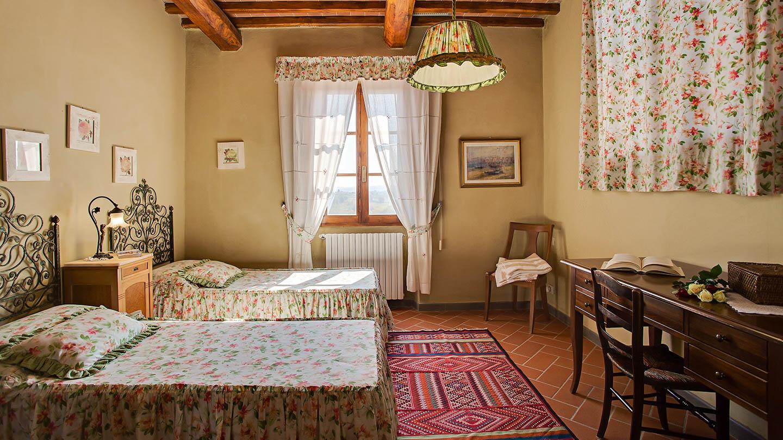 Sole del Chianti Cottage slaapkamer