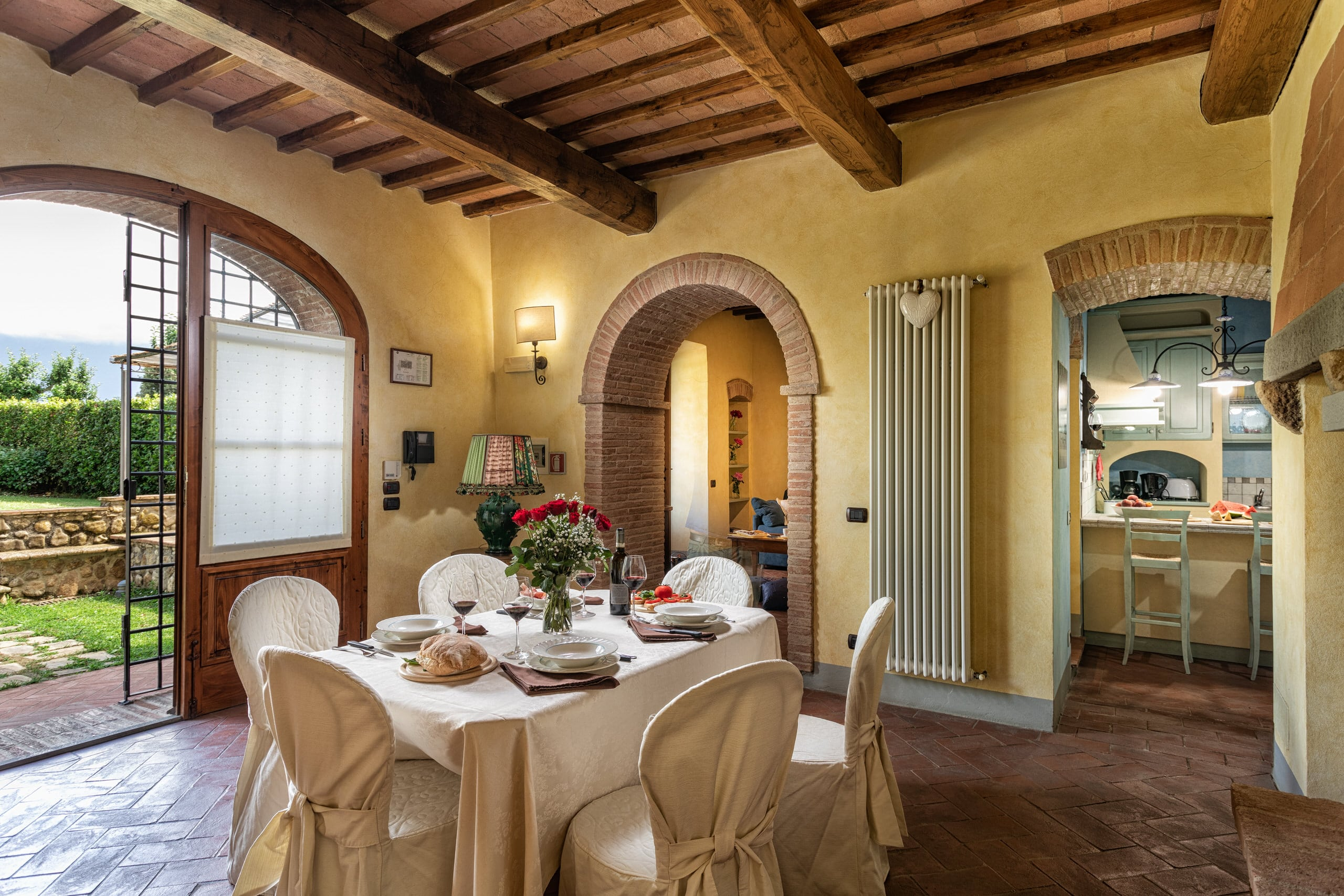 Il Cortile woonkamer