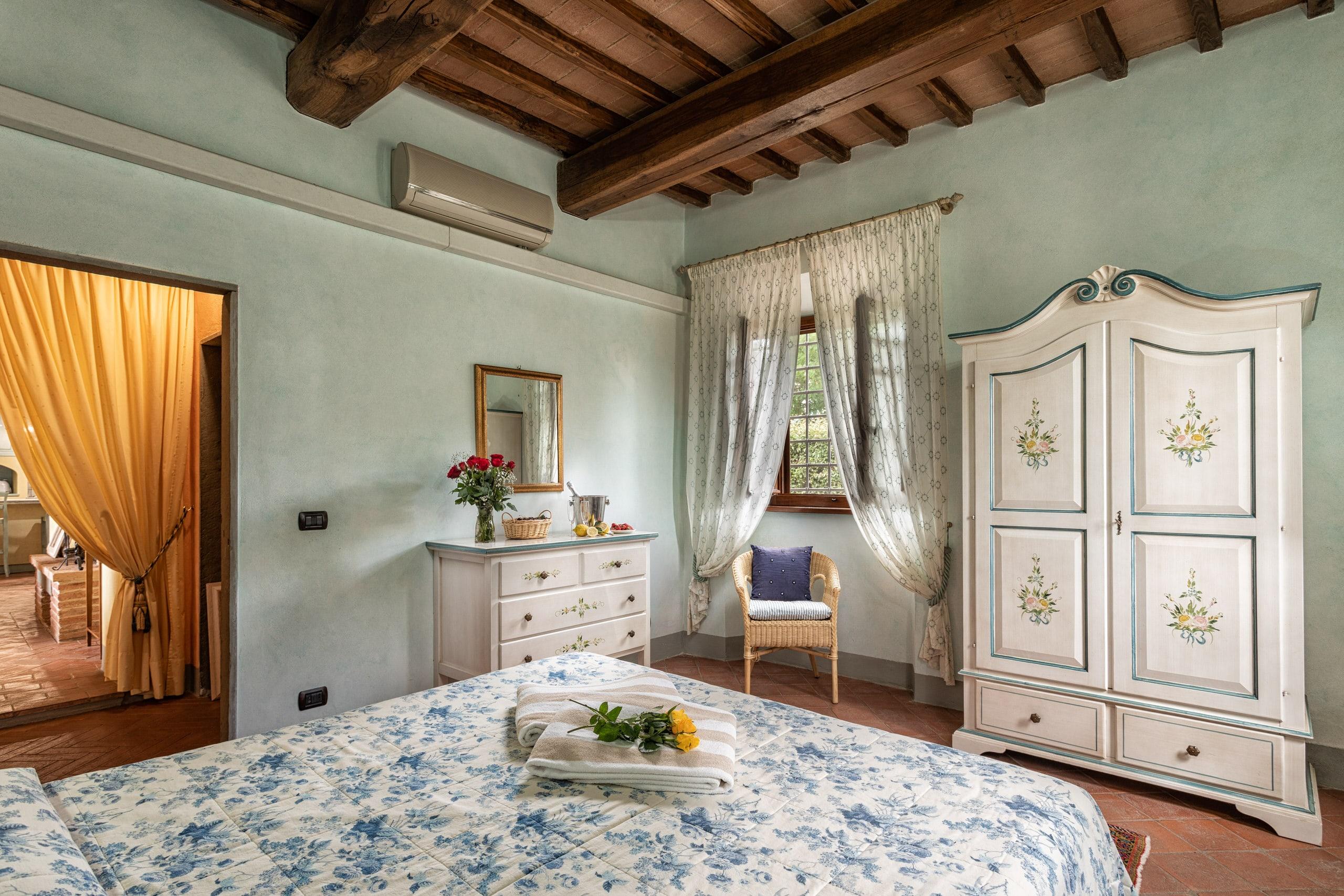 Il Cortile slaapkamer