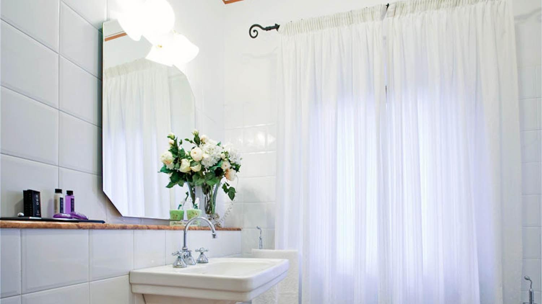 Rosa badkamer