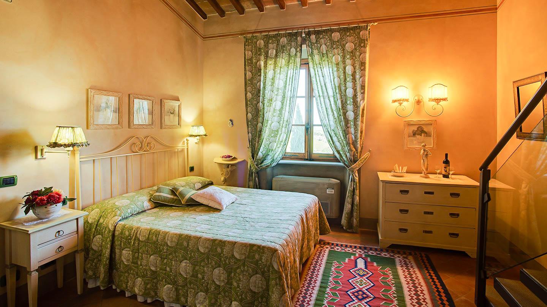 Sole del Chianti Il Contadino slaapkamer