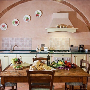 Sole del Chianti Suite La Casetta keuken