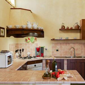 Sole del Chianti keuken