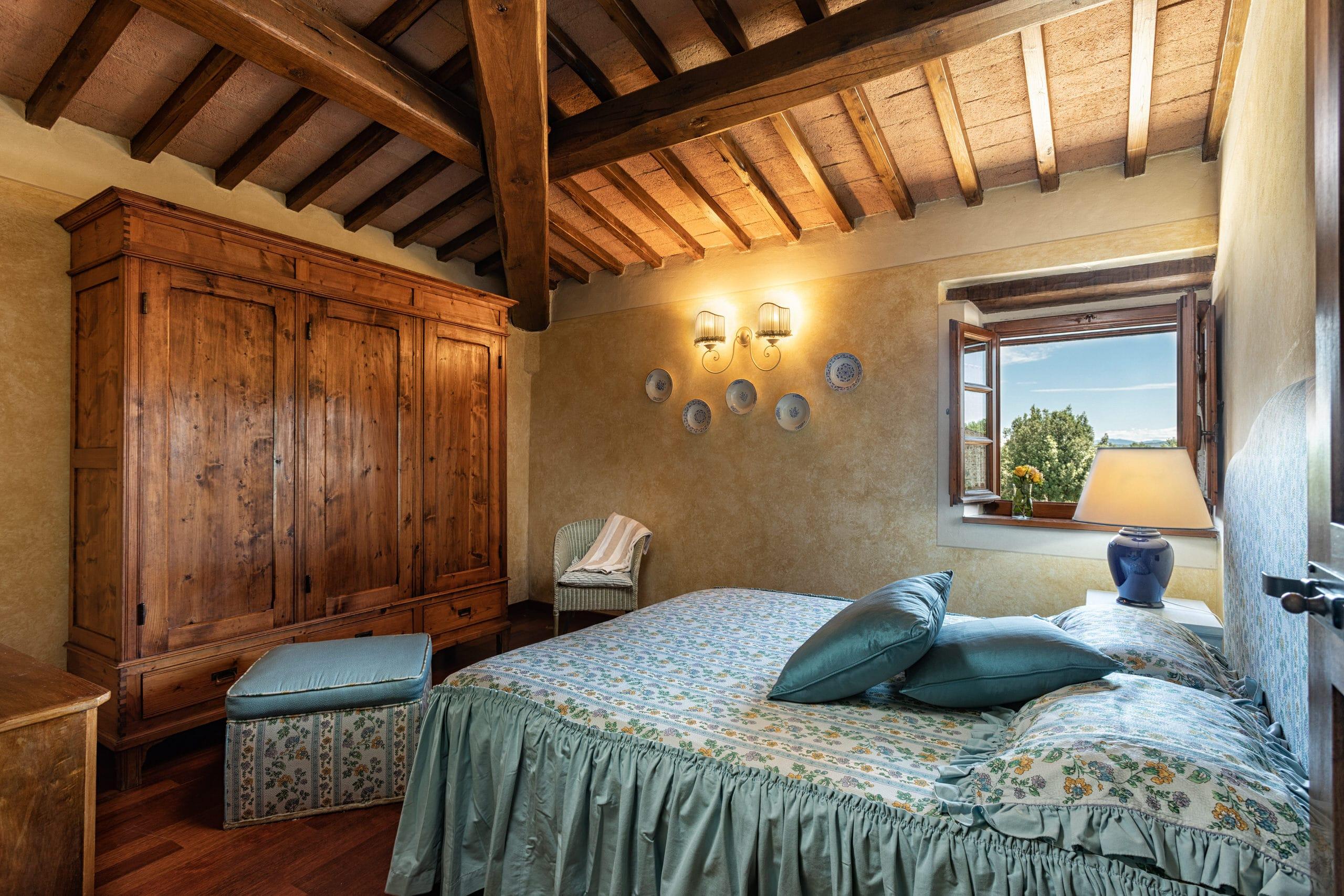 La Piccionaia slaapkamer