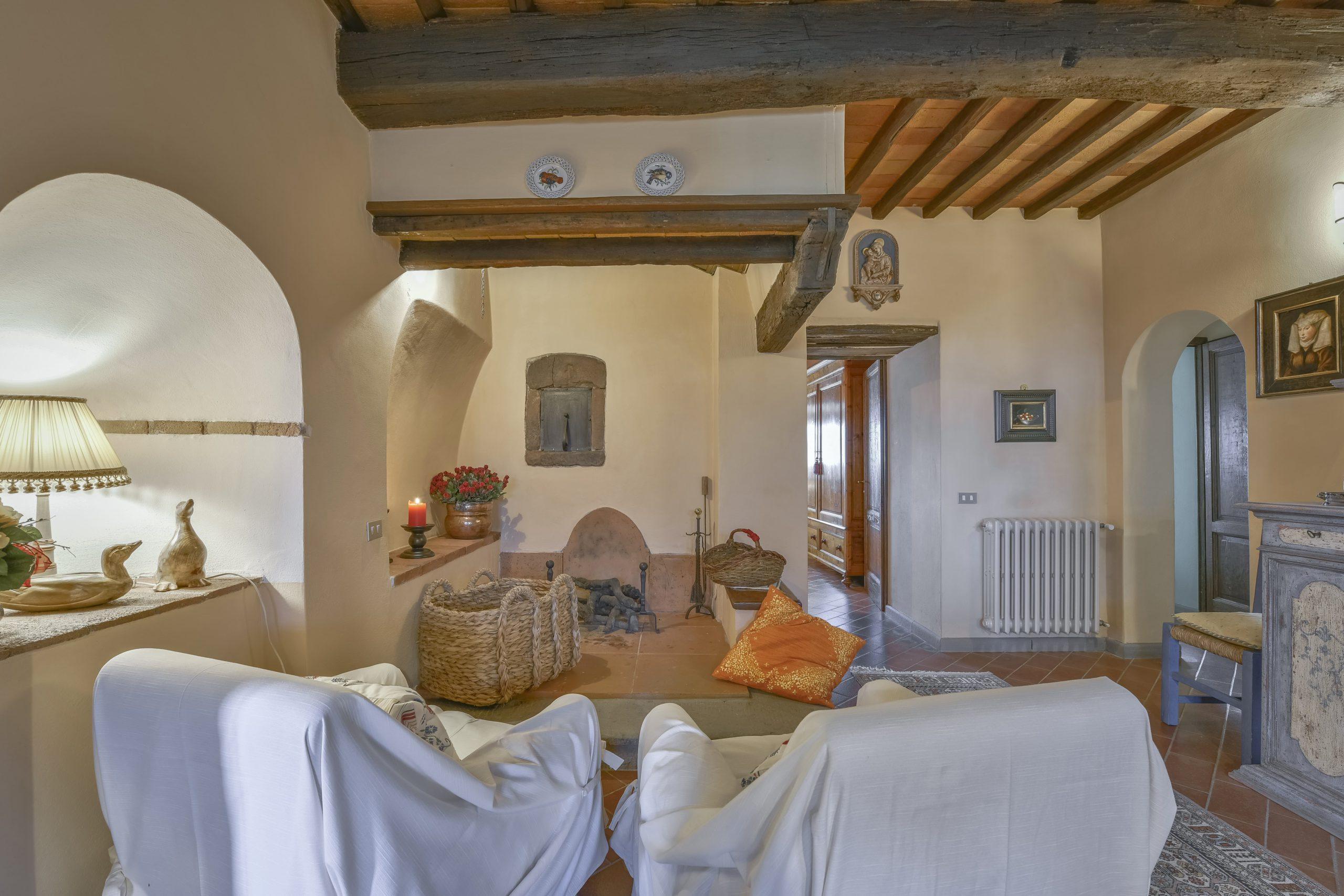 Villa Solaria woonkamer