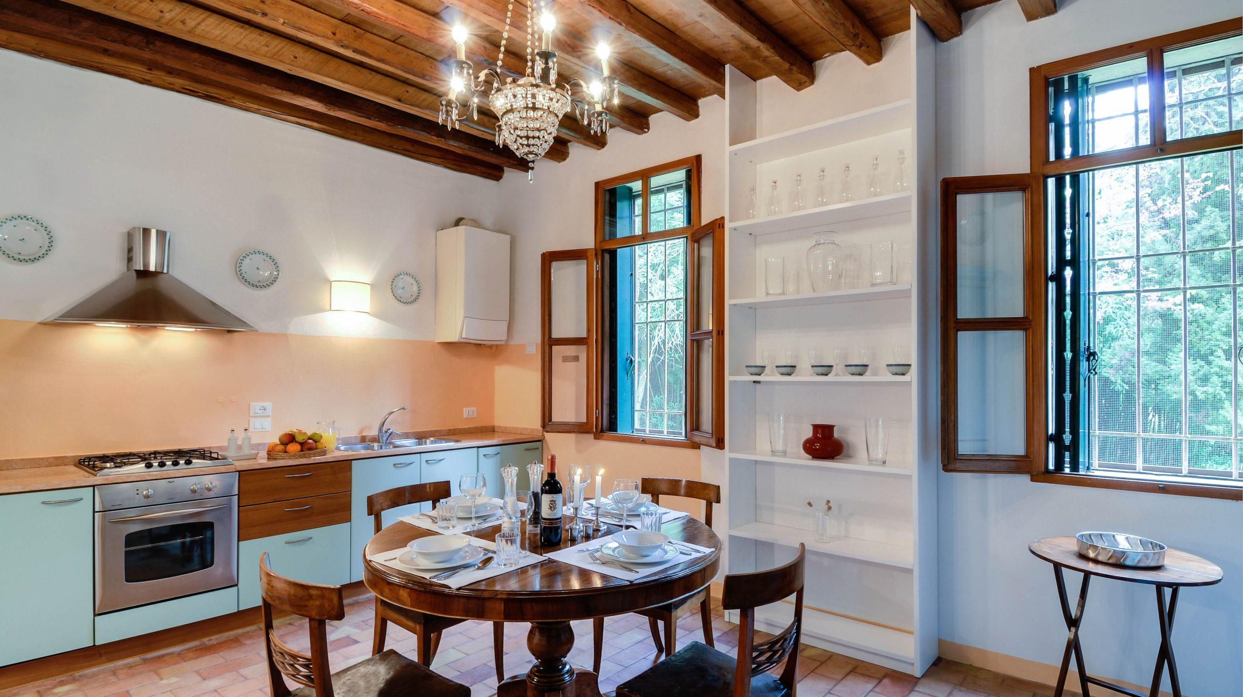 Villa Tempietto keuken