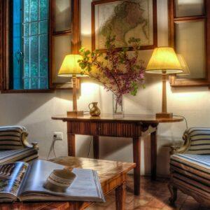 Villa Tempietto woonkamer