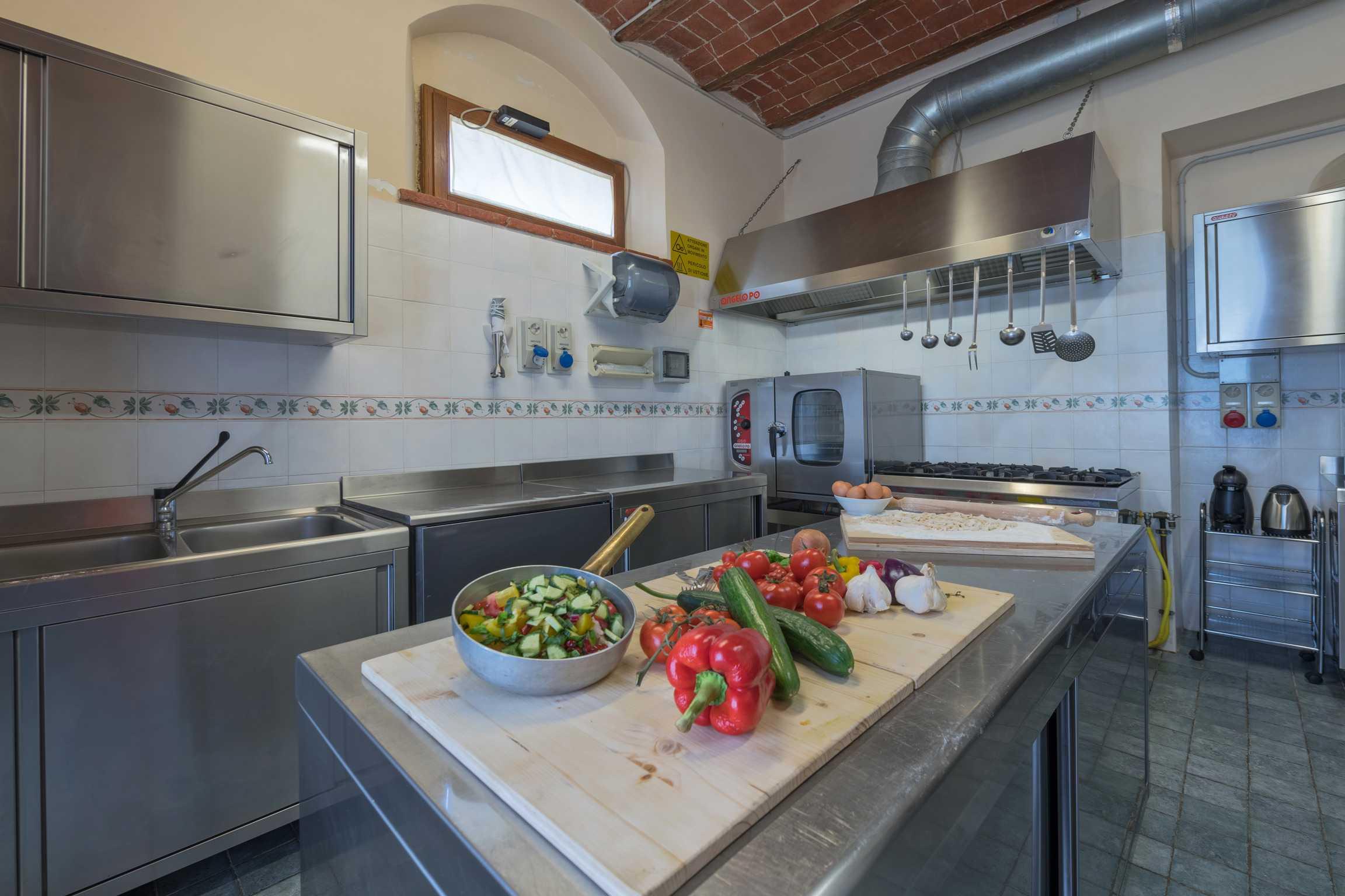 Villa de' Michelangioli keuken