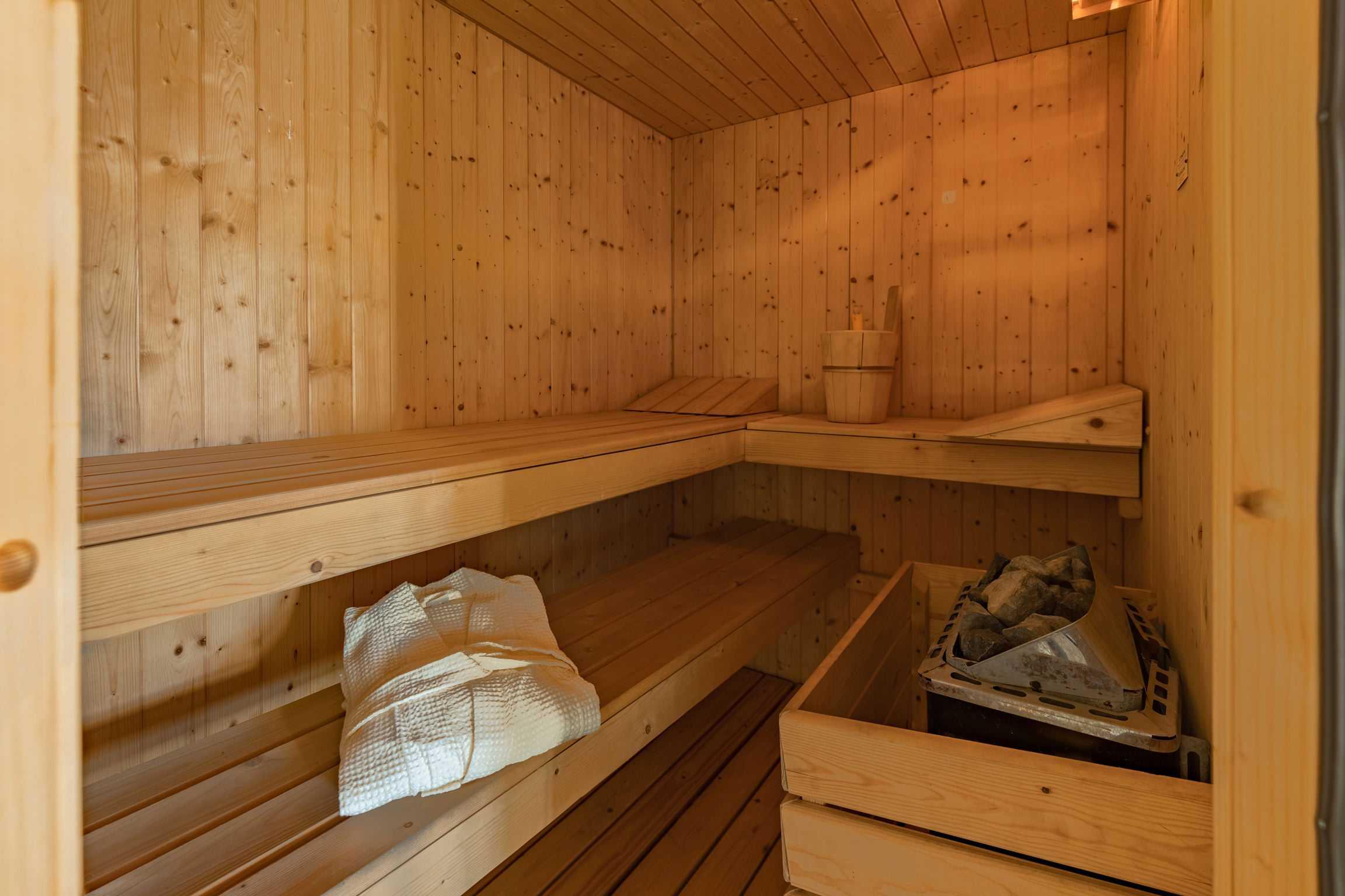 Villa de' Michelangioli sauna