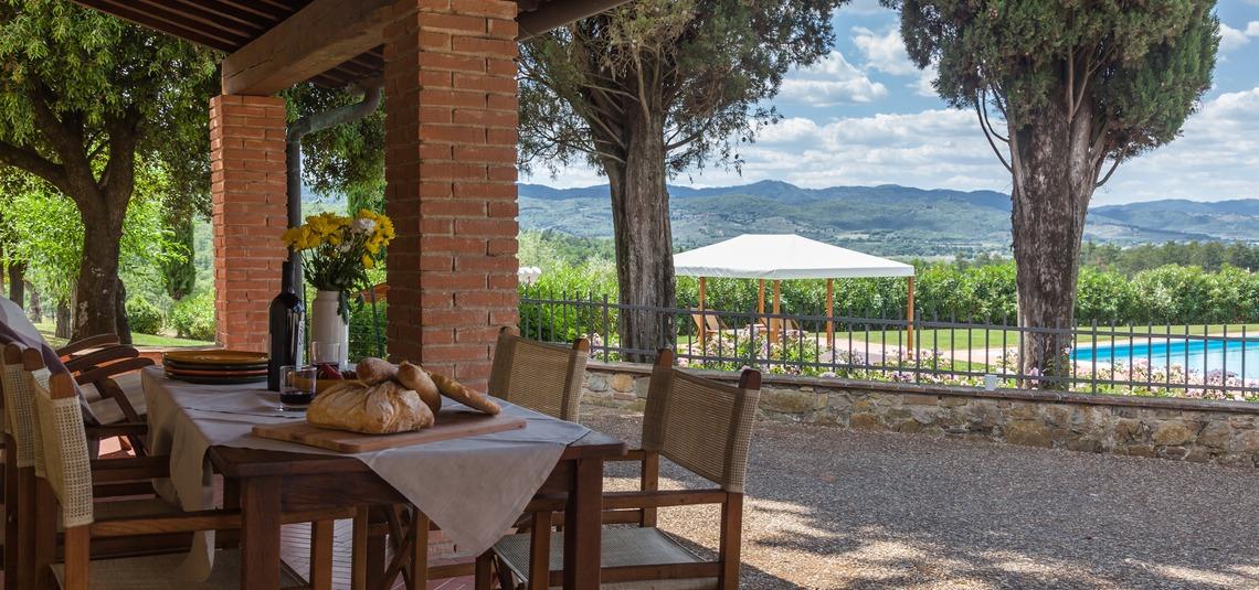 Borgo Iesolana Toscana Cipressi
