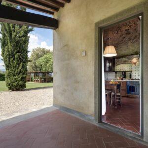 Borgo Iesolana Toscana Portico