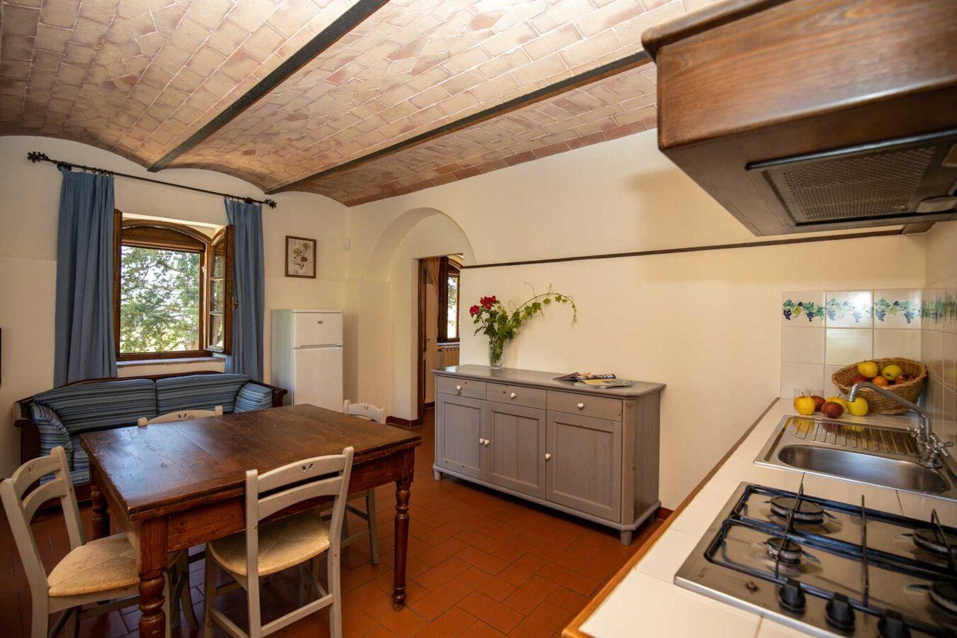 Riserva di Fizzano Toscana Trilocale Giardino