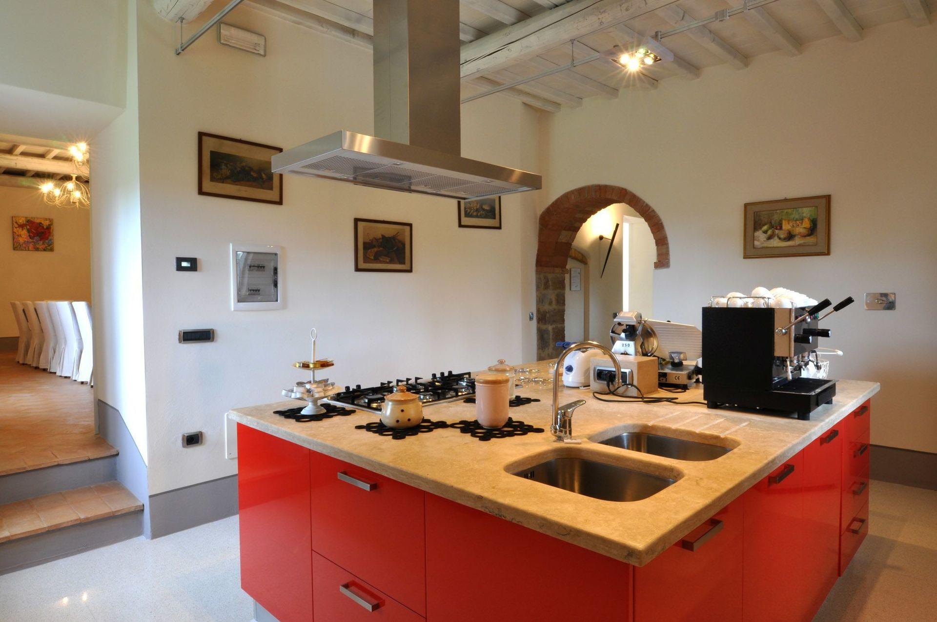 Villa Arnilu cucina